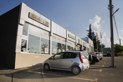 Tegeta motors in Telavi- completed project